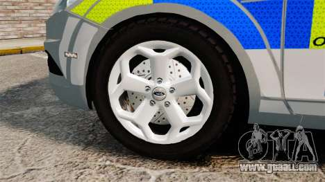 Ford Focus Estate Norfolk Constabulary [ELS] for GTA 4 back view
