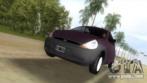 Ford Ka for GTA Vice City back left view