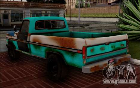 Ford F-150 Old Crate Edition for GTA San Andreas left view