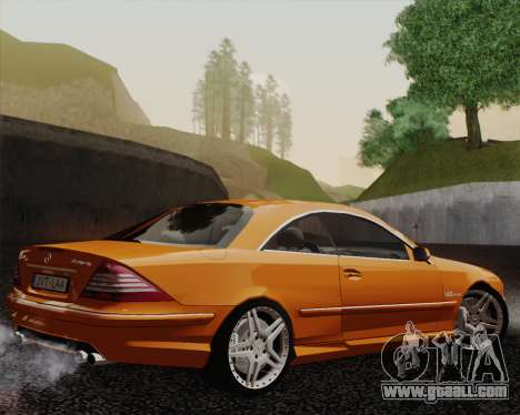 Mercedes-Benz CL65 for GTA San Andreas left view