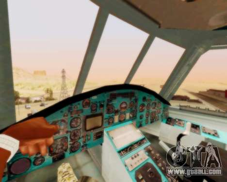 MI-26 for GTA San Andreas back view
