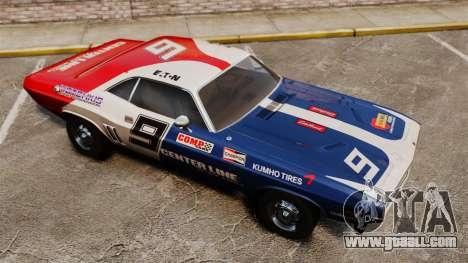 Dodge Challenger 1971 v2 for GTA 4 upper view