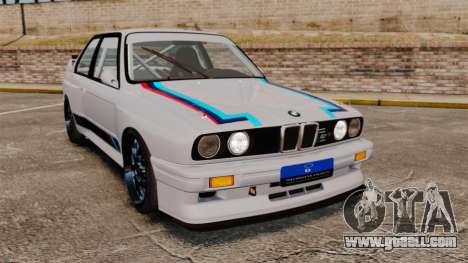 BMW M3 1990 Race version for GTA 4