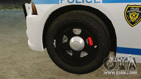 Dodge Charger 2012 LCPD [ELS] for GTA 4 inner view