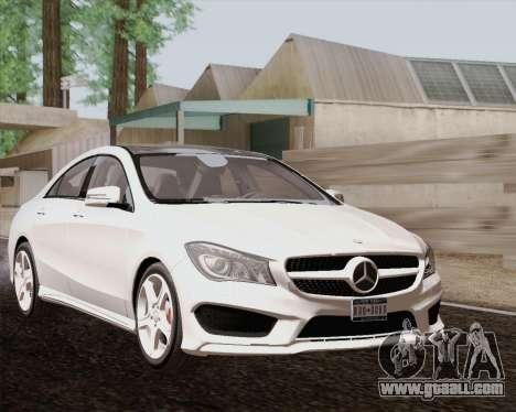 Mercedes-Benz CLA 250 2013 for GTA San Andreas