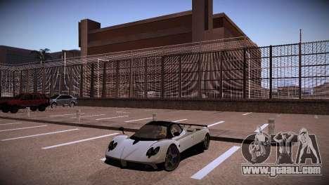 Pagani Zonda for GTA San Andreas back view