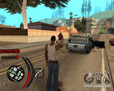 C-HUD Carbon for GTA San Andreas