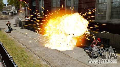 Exploding bullets for GTA 4 forth screenshot
