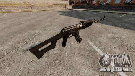 Kalashnikov light machine gun for GTA 4 second screenshot