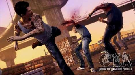 Boot screen Sleeping Dogs for GTA 4 seventh screenshot