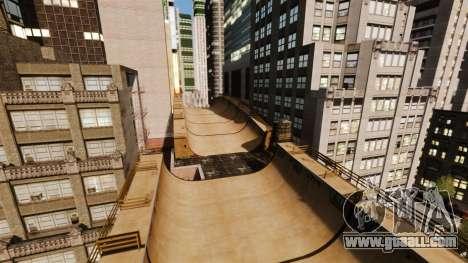 Algonquin Stunt Ramp for GTA 4 second screenshot