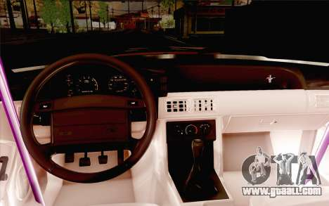 Ford Mustang SVT Cobra 1993 Drift for GTA San Andreas side view