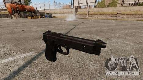 Beretta M9 Pistol for GTA 4