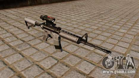 Automatic carbine M4A1 Scoped for GTA 4