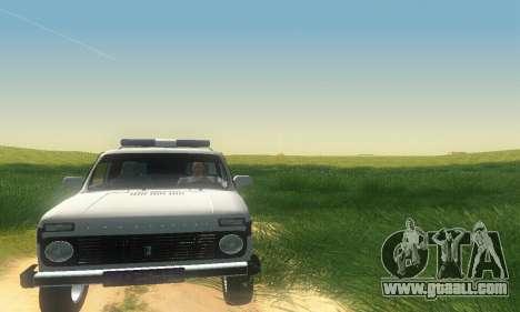 Lada Niva Patrola for GTA San Andreas left view