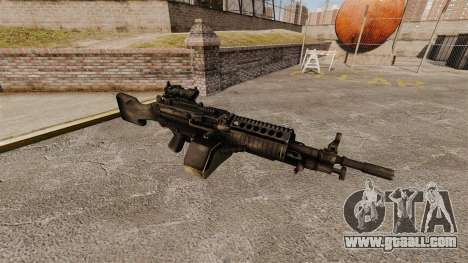 FN Mk 46 light machine gun for GTA 4