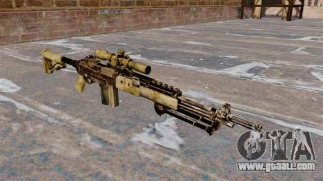 Sniper rifle M21 Mk14 for GTA 4