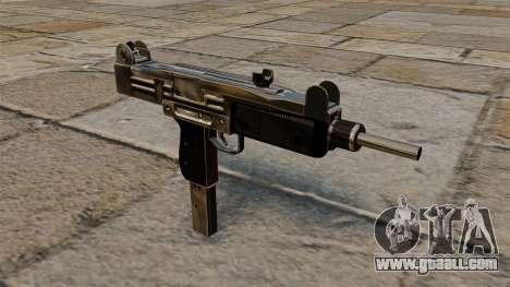 Uzi submachine gun for GTA 4
