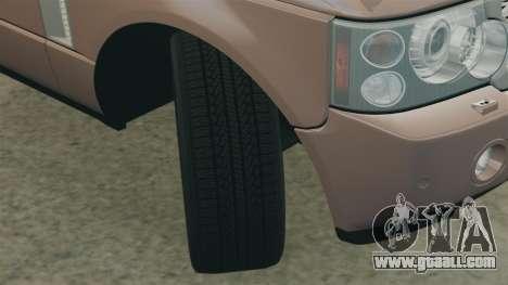 Range Rover TDV8 Vogue for GTA 4 side view