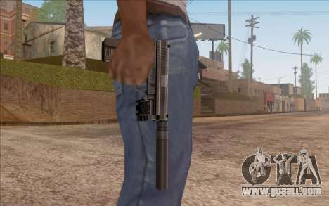 Pistol with silencer for GTA San Andreas third screenshot