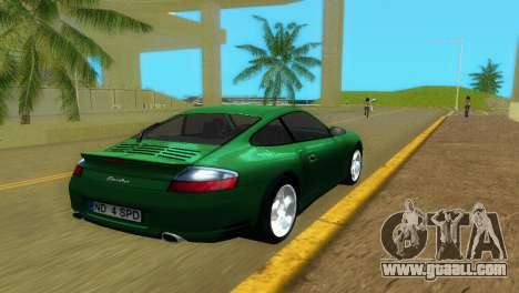 Porsche 911 Turbo for GTA Vice City back left view