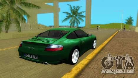Porsche 911 Turbo for GTA Vice City back left view