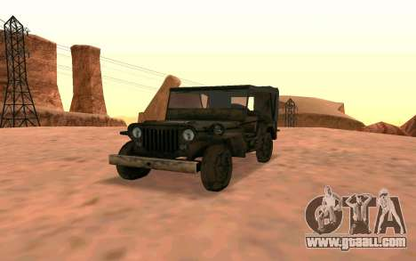 Willys MB v ju2 for GTA San Andreas