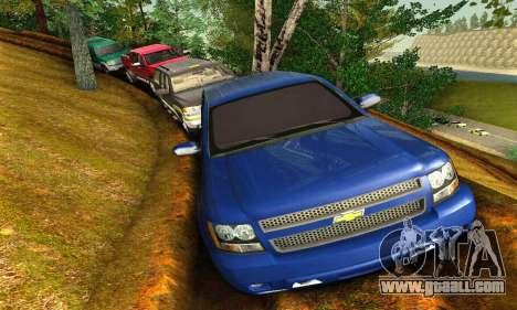 Chevrolet Suburban 2008 for GTA San Andreas left view