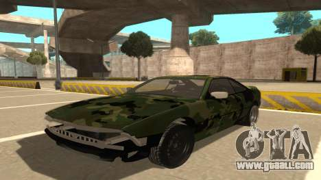 BMW 850CSi 1996 Military Version for GTA San Andreas