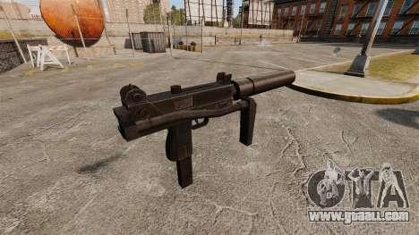 Submachine gun Ingram MAC-10 for GTA 4 second screenshot