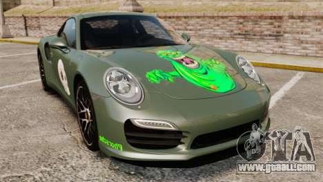 Porsche 911 Turbo 2014 [EPM] Ghosts for GTA 4