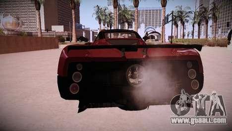 Pagani Zonda for GTA San Andreas right view