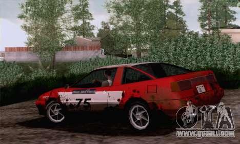 Uranus Rally Edition for GTA San Andreas left view