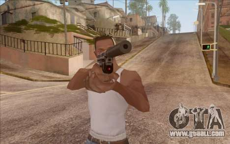 Pistol with silencer for GTA San Andreas second screenshot