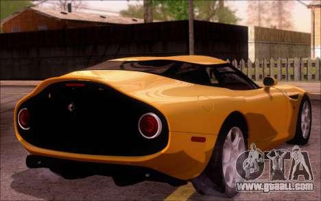 Alfa Romeo TZ3 2011 for GTA San Andreas left view