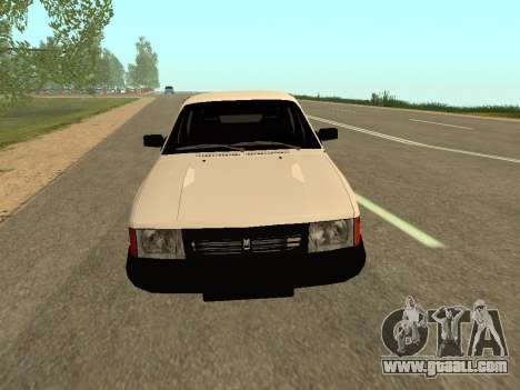 Moskvich 2141 for GTA San Andreas left view