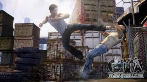 Boot screen Sleeping Dogs for GTA 4 forth screenshot
