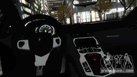 Lamborghini Aventador LP700-4 [EPM] 2012 for GTA 4