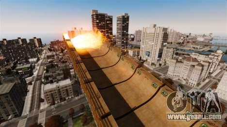 Algonquin Stunt Ramp for GTA 4 sixth screenshot