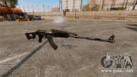 Kalashnikov light machine gun for GTA 4