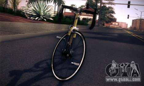 Colnago Ferrari CF3 v2 for GTA San Andreas right view
