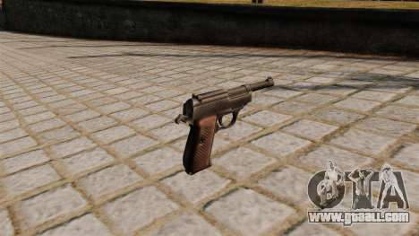 Walther P38 Pistol for GTA 4 second screenshot