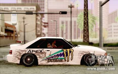 Ford Mustang SVT Cobra 1993 Drift for GTA San Andreas back view
