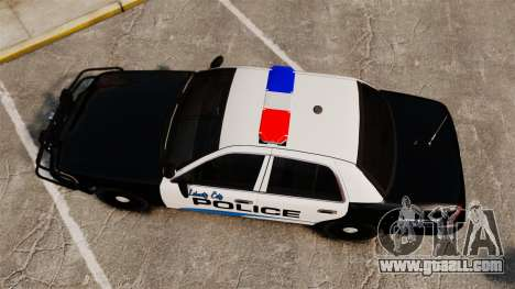 Ford Crown Victoria Police Interceptor [ELS] for GTA 4 right view
