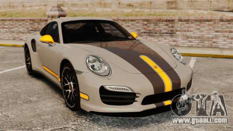 Porsche 911 Turbo 2014 [EPM] TechArt Design for GTA 4