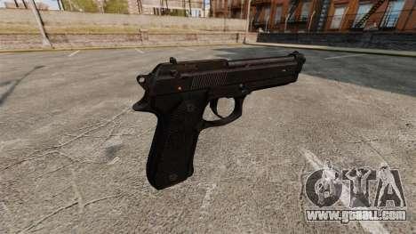Beretta M9 Pistol for GTA 4 second screenshot