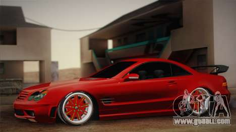 Mercedes-Benz SL65 AMG Racing Edition for GTA San Andreas
