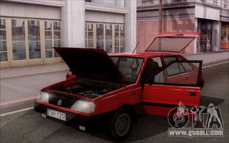 FSO Polonez Caro 1.4 GLI 16V for GTA San Andreas upper view