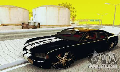 Dodge Charger DUB for GTA San Andreas left view