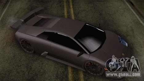 Lamborghini Murcielago GT Carbone for GTA San Andreas right view